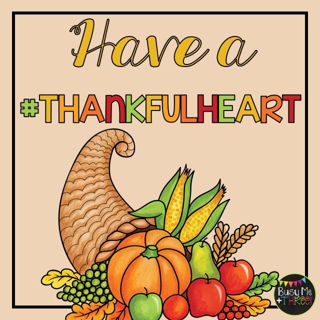 #thankfulheart Giveaway