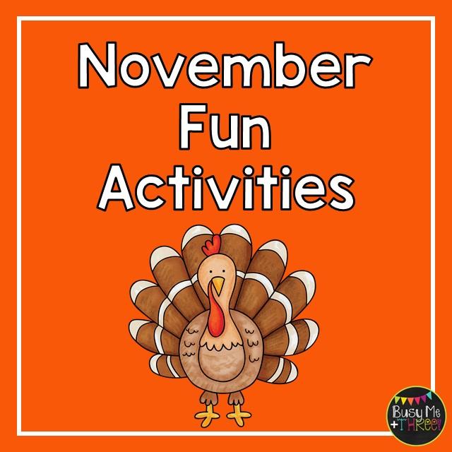 Fun November Activities