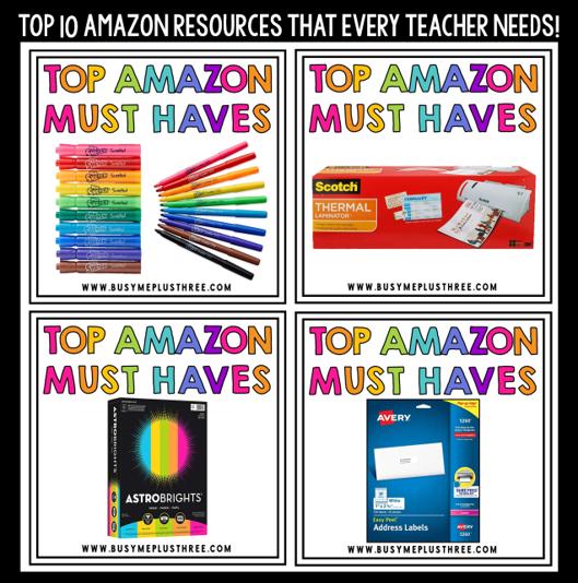 10 Amazon Items Every Teacher Needs!
