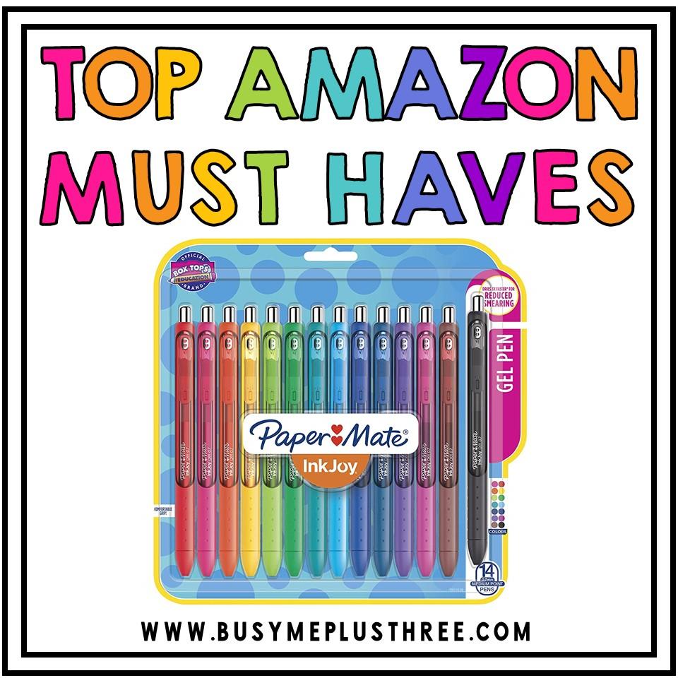 10 Amazon Items Every Teacher Needs! - Busy Me Plus Three
